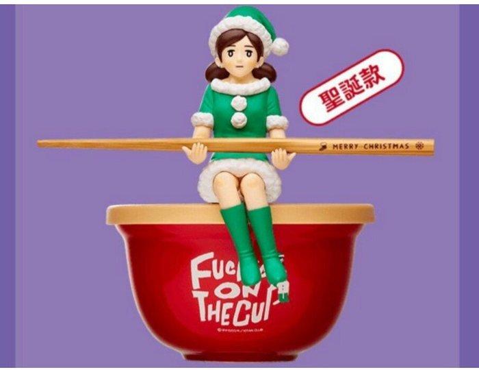 天使熊雜貨小鋪~7-11 節慶杯緣子大公仔碗筷組 -聖誕款、萬聖款 2款  全新現貨