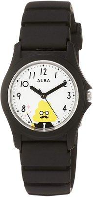 日本正版 SEIKO 精工 ALBA AQGS012 便便漢字教材 兒童錶 手錶  日本代購