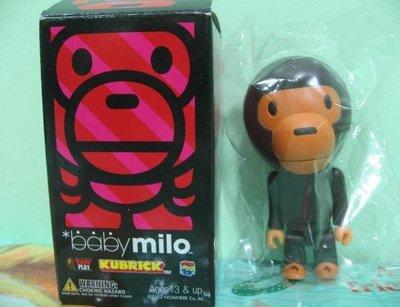 【MiKi】現貨 KUBRICK APE baby milo 初代 BABY MILO 絕版 全新附外盒