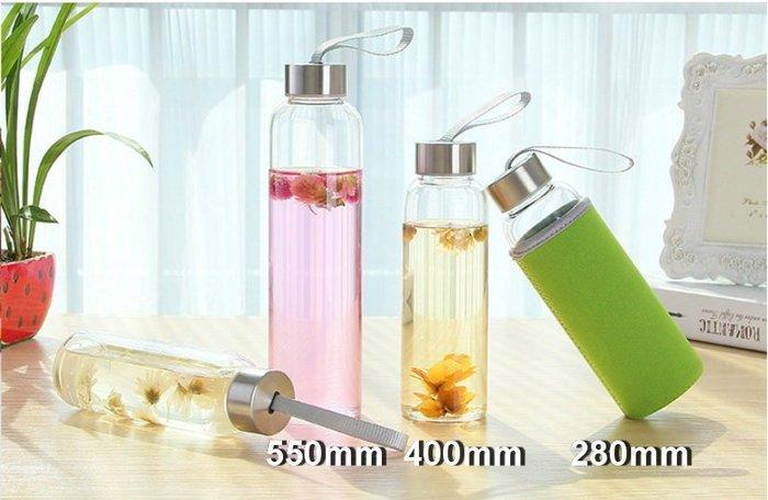 【螢螢傢飾】蜂蜜水杯 280ml 高硼硅環保耐熱杯,耐鹼耐酸抗腐蝕,冷熱兩用隨身水瓶 【顏色多隨機發】