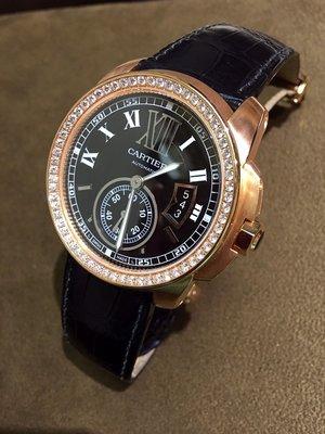 【愛錶回春中心】(  專業代鑲鑽石  請自備錶 )   Cartier原廠 Calibre 42MM ~
