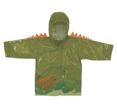 美國直送 kidorable 恐龍款 兒童造型雨衣/防雨外套