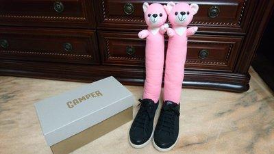 百貨專櫃 CAMPER 黑色 麂皮 休閒鞋 平底鞋 女鞋 38號