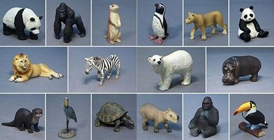 現貨~限量! EIKOH景品 迷你大地系列 動物 全16種 完全收藏