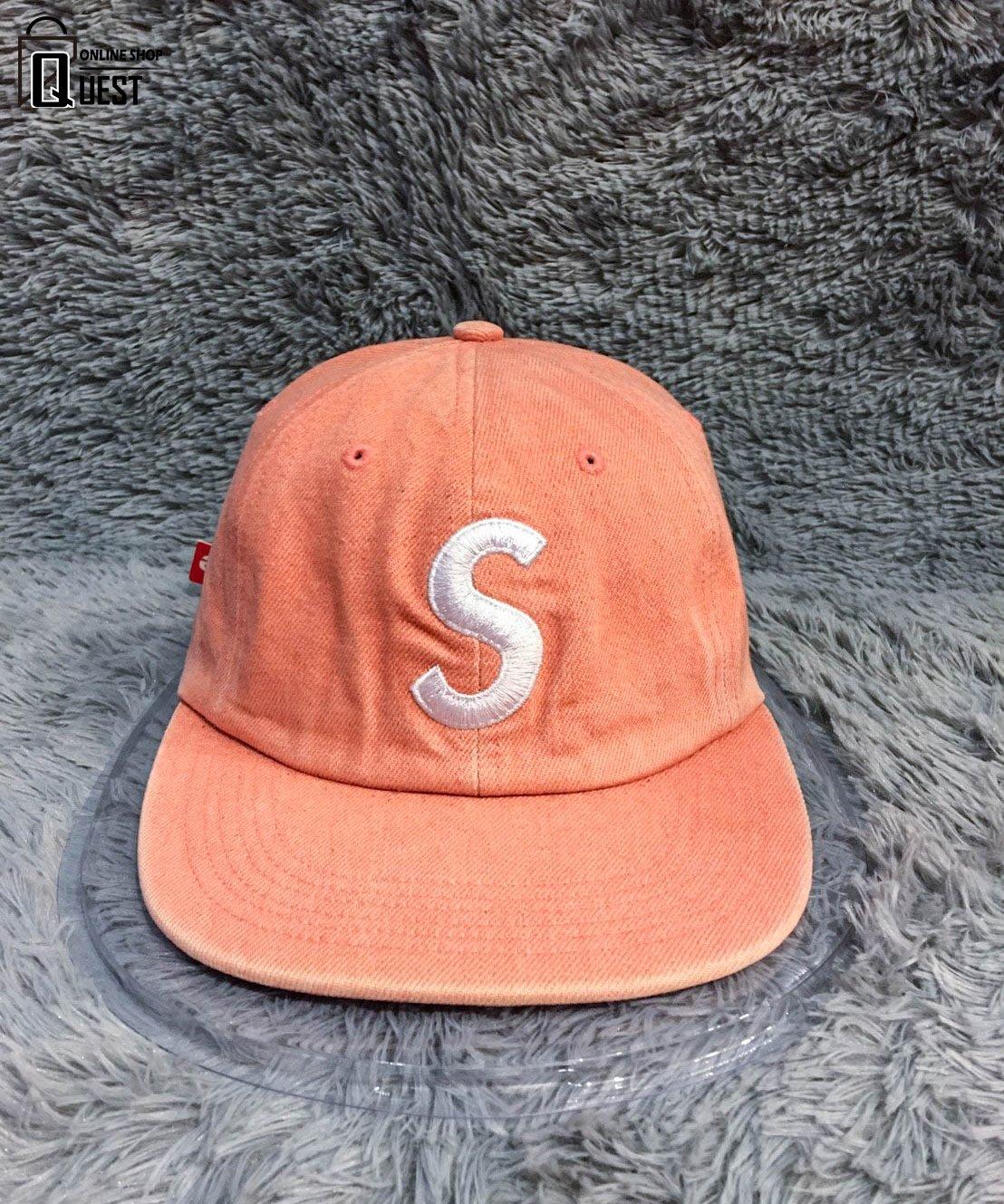 a59bc7032df  QUEST SUPREME 2016 SUEDE S LOGO 6 PANEL 麂皮五分割帽刺繡