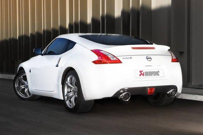 【樂駒】Akrapovic 蠍子 尾段 排氣 系統 Nissan 370 Z 改裝 套件 精品 排氣管 不鏽鋼