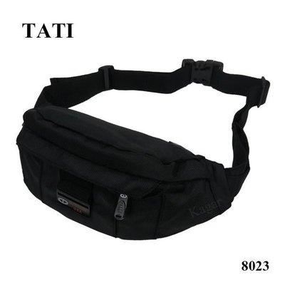 加賀皮件 TATI水餃型腰包 大空間可放寶特瓶/水壺 防水輕巧 8023