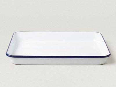 Falcon 琺瑯 托盤 Serving tray 經典藍白 英國獵鷹琺瑯 delicateworld