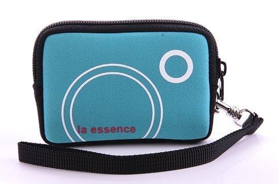 la essence 熱賣商品 LE-9303H 卡片零錢包/ 手機袋/ 相機包(附手腕帶)~天藍色賣場