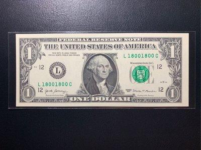 (((趣味大叔)))🇺🇸2017年18001800整點新聞美元趣味鈔
