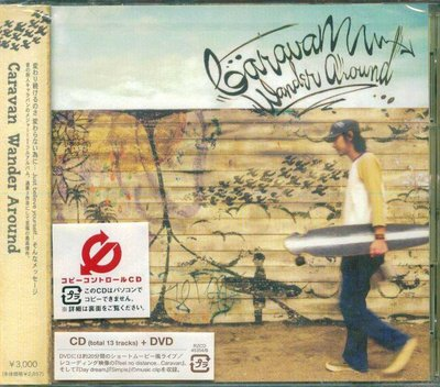 K - Caravan - Wander Around - 日版 CD+DVD - NEW