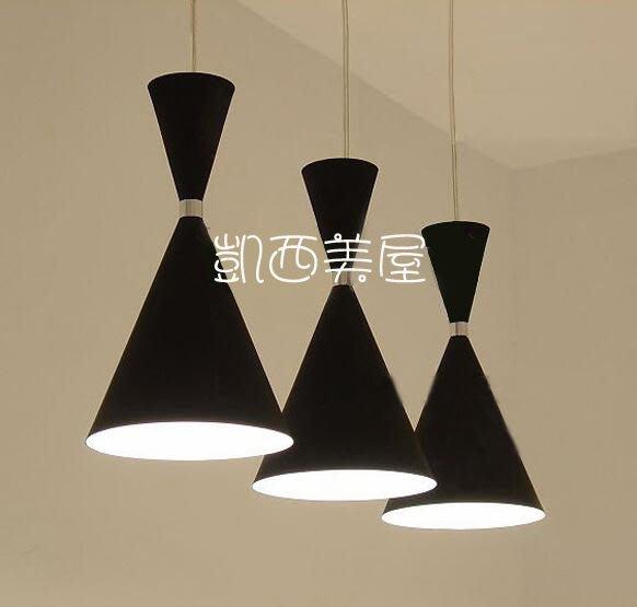 凱西美屋 經典設計 義大利時尚黑色酒杯餐吊燈 餐廳燈 吧台燈 過道燈