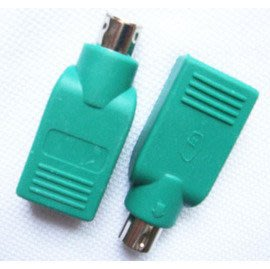 PS2公轉USB母 滑鼠 USB轉PS2 轉接頭 轉接器