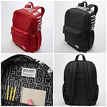 A & F abercormbie & Fitch Logo Backpack for kids 兒童背包 美國購入