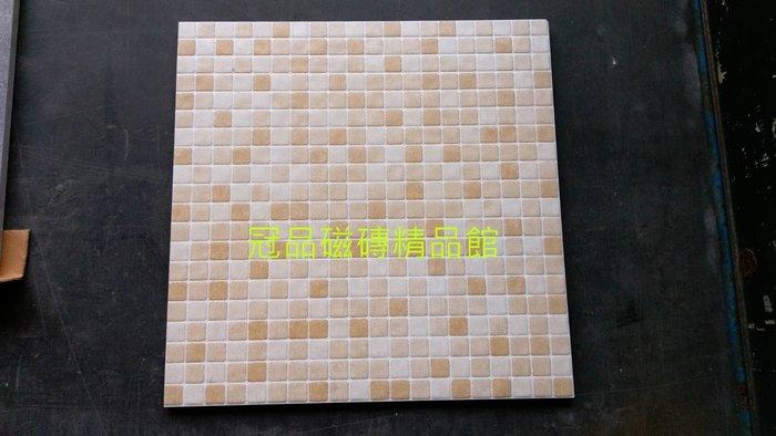 ◎冠品磁磚精品館◎進口精品 馬賽克石英磚-黃- 30X30 CM
