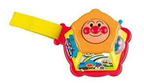 日本進口 正版 麵包超人Annpanman 攜帶型 幼兒六面玩具