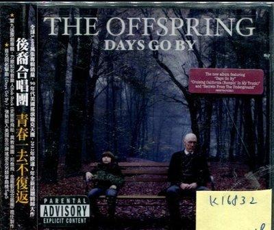 *真音樂* THE OFFSPRING / DAYS GO BY 全新 K16832
