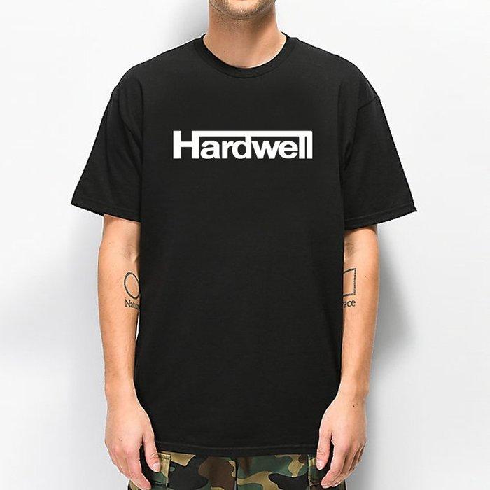 Hardwell Logo 全球百大DJ 官方 短袖T恤 黑色 電音舞曲派對EDM