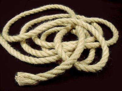 【綺妹手創雜貨】特粗麻繩 9mm 編織繩 粗麻繩 包裝繩 繩子 黃麻 童軍繩 園藝用品