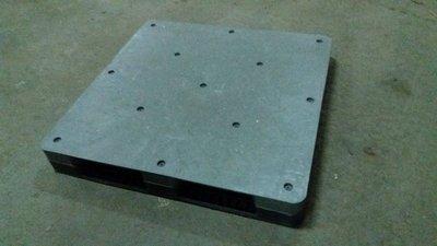 二手棧板/中古棧板/塑膠棧板  密面  品項新 .露營區 倉儲 貨運 設計 堆高機 拖板車