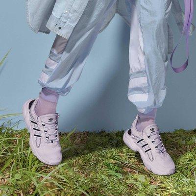 南◇2020 3月 ADIDAS HAIWEE  EF4458 紫色 黑色 紫羅蘭 愛迪達 女鞋 復古 老爹鞋