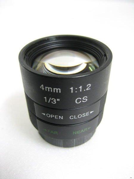 HKL RS系列 監視器 監控 手動鏡頭 焦距 8mm 孔徑 F1.2