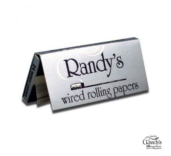 GOODFORIT / 美國Randy's Rolling Paper銀包裝鐵線煙紙/CLASSIC 76mm