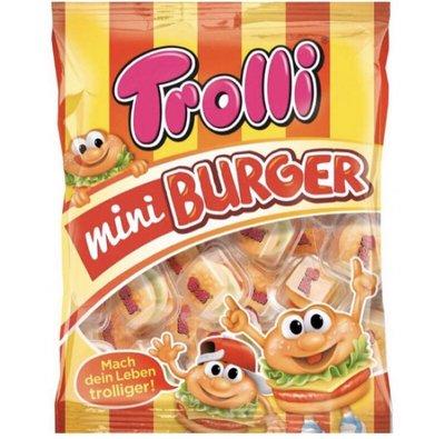 德國 Trolli 🍔 迷你漢堡造型QQ軟糖 10gx17個獨立包裝