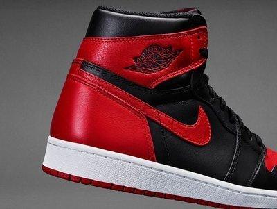 發票 台灣公司貨 Air Jordan 1 Retro High OG Banned 禁穿 黑紅 一代 8到12號