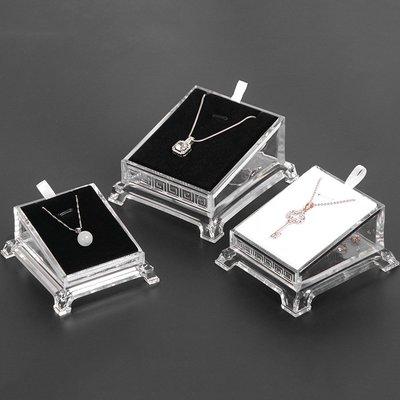 hello小店-亞克力有機玻璃透明玉吊墜佛牌珠寶首飾展示道具飾品托盒架子#飾品架#展示道具#