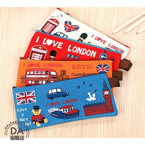 筆袋 鉛筆袋 鉛筆盒 造型顏色隨機 倫敦衛兵造型 超薄設計 帆布 化妝包 化妝袋