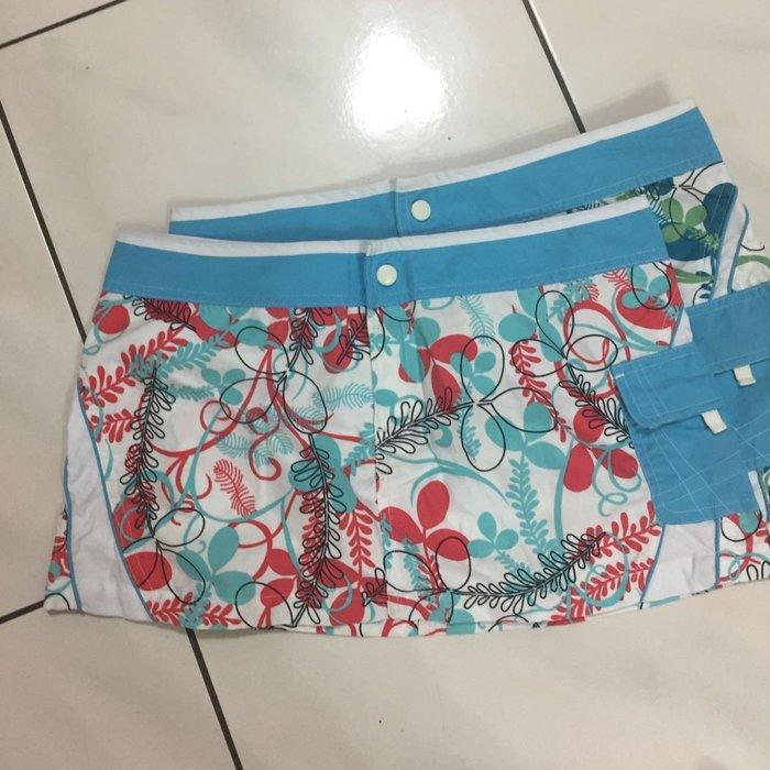 Roxy歐美潮流品牌❤️ 二手  夏日迷你海灘短裙  粉色