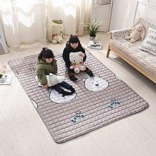 床墊 全棉床墊薄1.8m床軟褥子1.5米單人榻榻米墊背護墊子雙人折疊防滑小尺寸價格 中大號議價