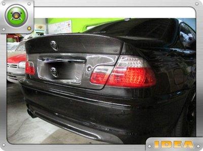 泰山美研社 2378 全新BMW E46 2D改M-TECH樣式後保桿後下巴包覆318CI 320CI 330CI