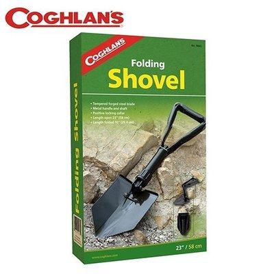丹大戶外【Coghlans】加拿大 FOLDING SHOVEL 折疊鐵鏟 9065