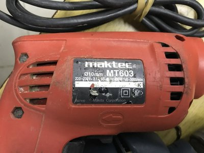 Makita Maktec MT603 450W 10mm Drill MKMT603 220V