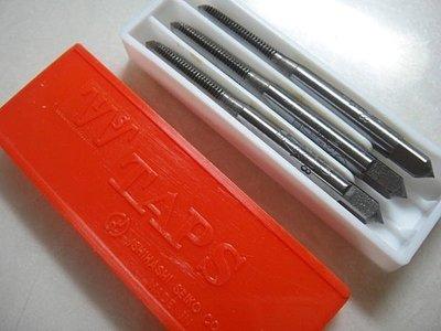 【金便宜】 IS M6x1.0 手絞絲攻 (三支組) 螺絲攻 攻牙螺絲 攻牙器 攻牙工具 HTD M6*1.0 日製