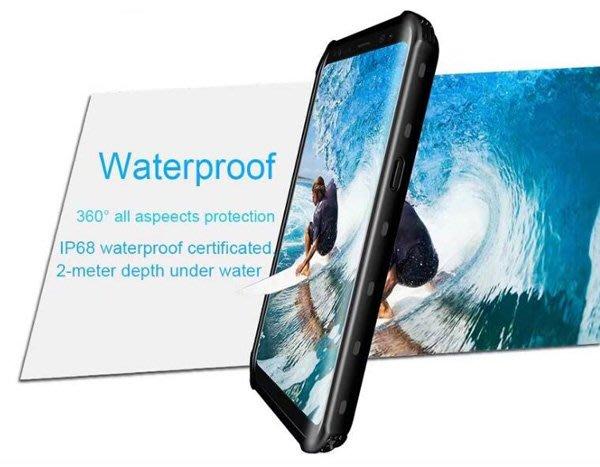 全新三星S8手機防水殼防水防摔防塵實色帶支架款S8手機全方位保護套可潛水