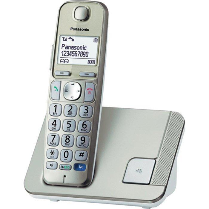 【送吹風機】 Panasonic 國際牌數位DECT 無線電話 KX-TGE210TW / TGE210