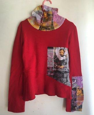 KENZO (高領長䄂)女童棉衣