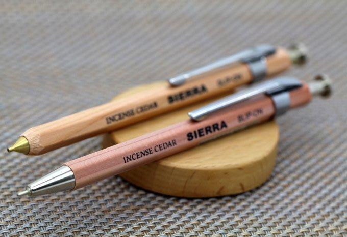 殺!【日本原木製作】SIERRA 袖珍自動鉛筆、原子筆【二款選! 】日本製【E0002】
