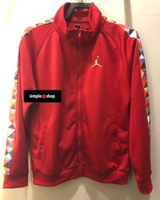 【Simple Shop】NIKE JORDAN CNY 新年 己亥 立領 外套 運動外套 紅 CD9038-687