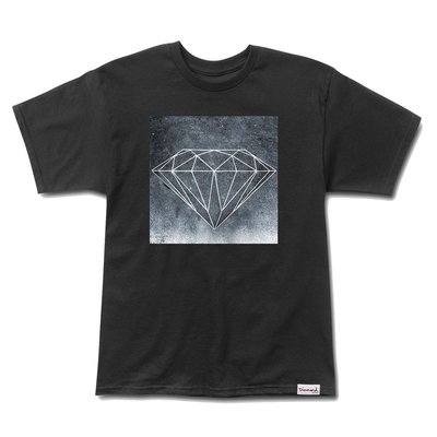 [WESTYLE] Diamond Supply Co Chalk Tee 黑 短T