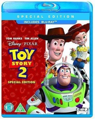 BD 美版【玩具總動員2 單碟版】【Toy Story 2 】Blu-ray 藍光