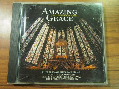 MWM◎【二手CD】Amazing Grace- More Favorite Hymns 約3.4條不到1公分刮痕