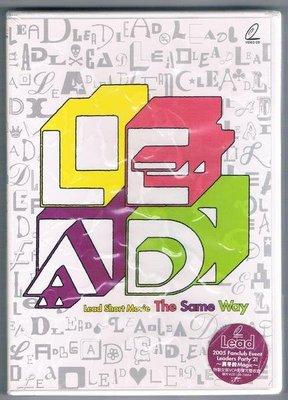 [鑫隆音樂]日本VCD-LEAD-The Same Way (全新)免競標
