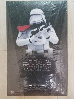 Hot Toys Star Wars First Order Snowtrooper Officer MMS322 星球大戰 暴風兵 白兵