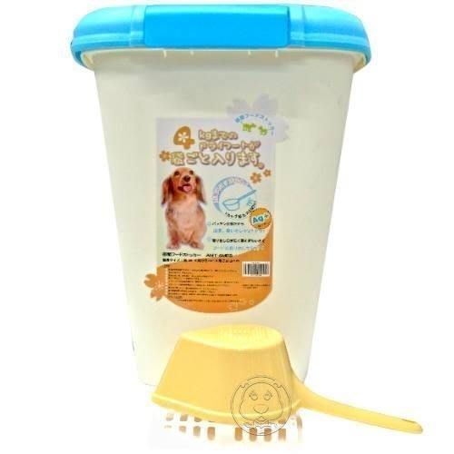 【🐱🐶培菓寵物48H出貨🐰🐹】阿曼特》密封式糧食飼料桶4公斤 特價304元(限宅配)
