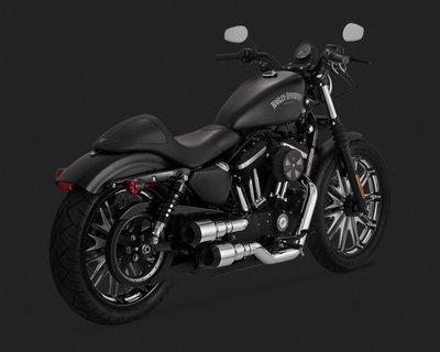 [捷克摩托]VANCE&HINES V&H排氣管HI-OUTPUT GRENADE適用哈雷Sportster04-16年