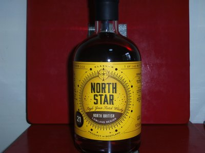 Scotch Whisky (Single Grain) NORTH BRITISH 1995 21 YEAR OLD NORTH STAR